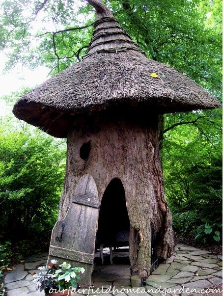 101 best images about tree stump gnome homes on pinterest