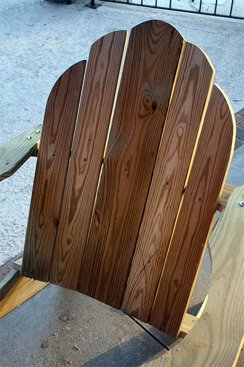 Adirondack Chair Plans Free Adirondack Chair Plan (printable) Chair back 4