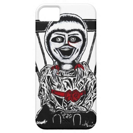 Creepy Doll iPhone 5 Cases