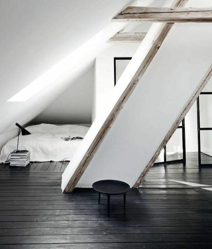 les 25 meilleures id es de la cat gorie sol sombre sur pinterest planchers en bois fonc. Black Bedroom Furniture Sets. Home Design Ideas
