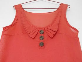 Scared Stitchless: The Top with 3 Collars