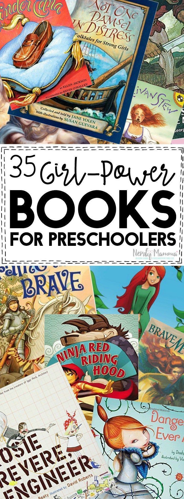 35 girl power books for preschoolers and toddlers. Love these positive messages for young girls!