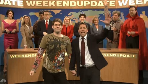 Bill Hader steals the show in star-packed '@Saturday Night Live' sendoff  (Photo: @NBC TV) #SNL