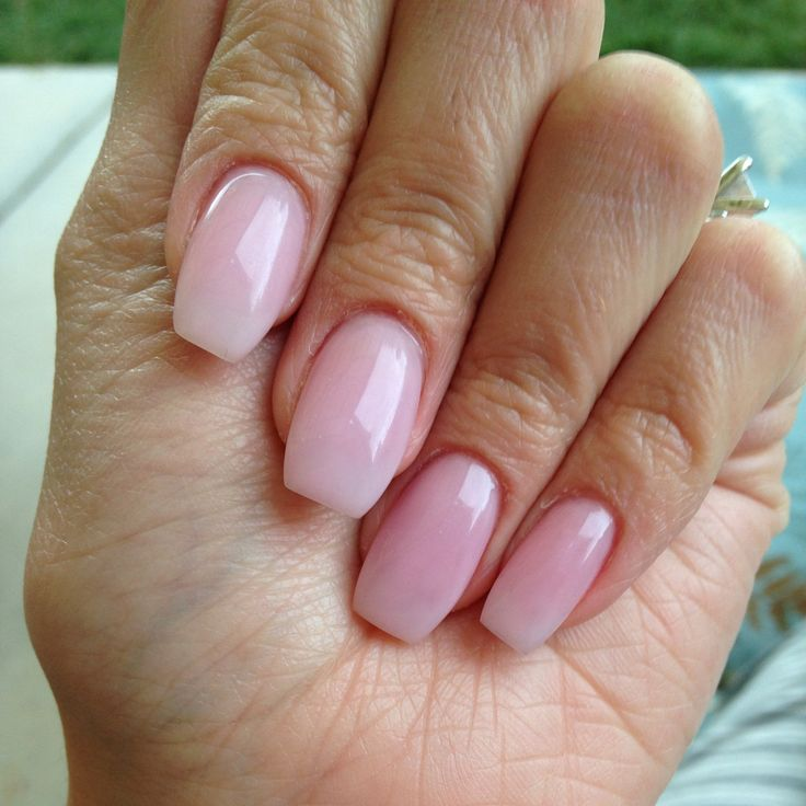 The 25+ best Natural looking acrylic nails ideas on ...