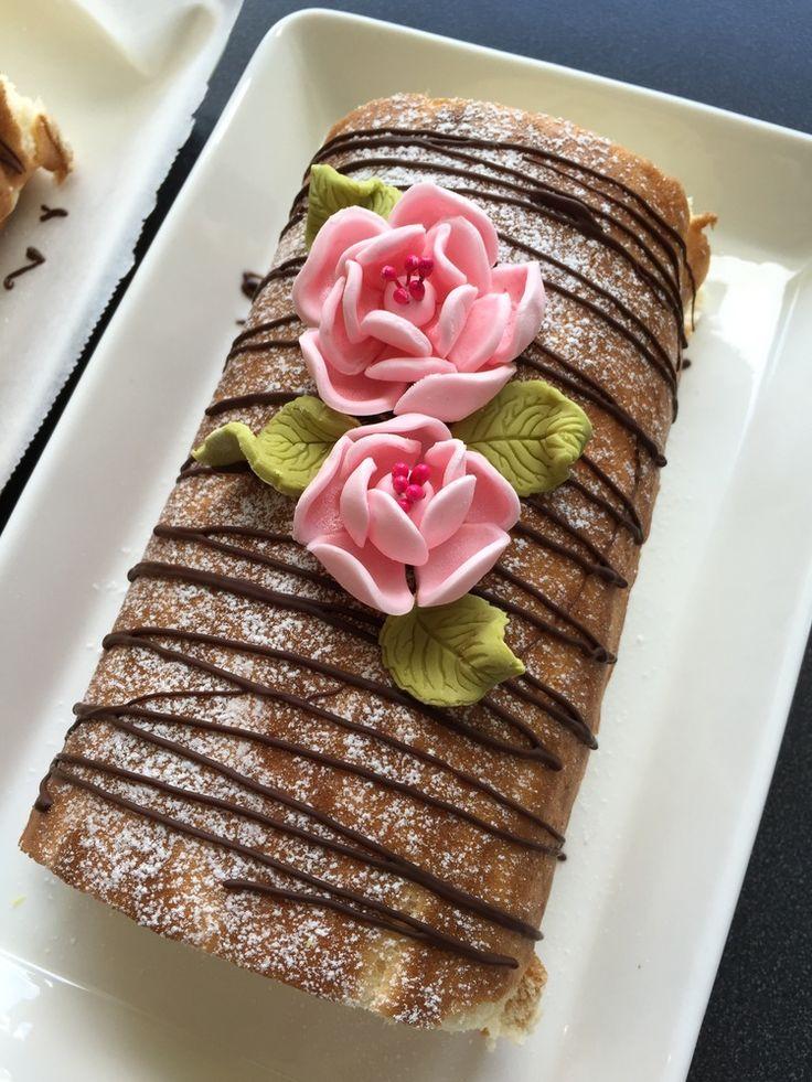 #leivojakoristele #kääretorttuhaaste Kiitos Jenni R.