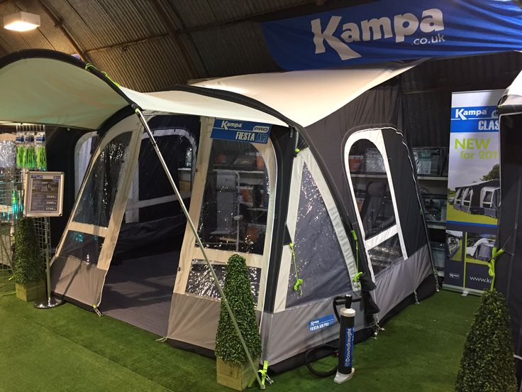 Kampa Fiesta Pro Air Inflatable Caravan Awning