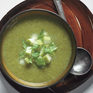 Celery and Pear Bisque | Keeping it Healthy with a twist! | Pinterest