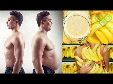 How to Lose Belly Fat in 1 Week | The banana, prepared in this way burns the fat like crazy - YouTube