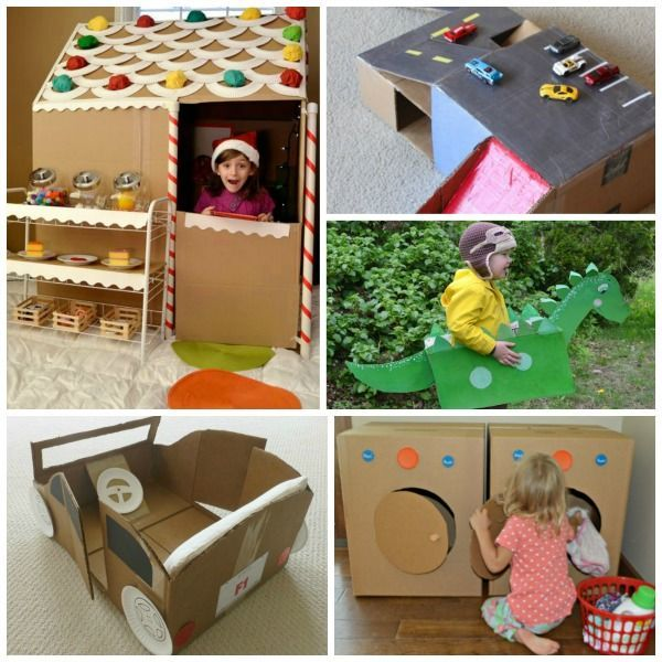 Shoe Box Dollhouse Craft For Kids: 17 Best Images About A Box Is Better On Pinterest