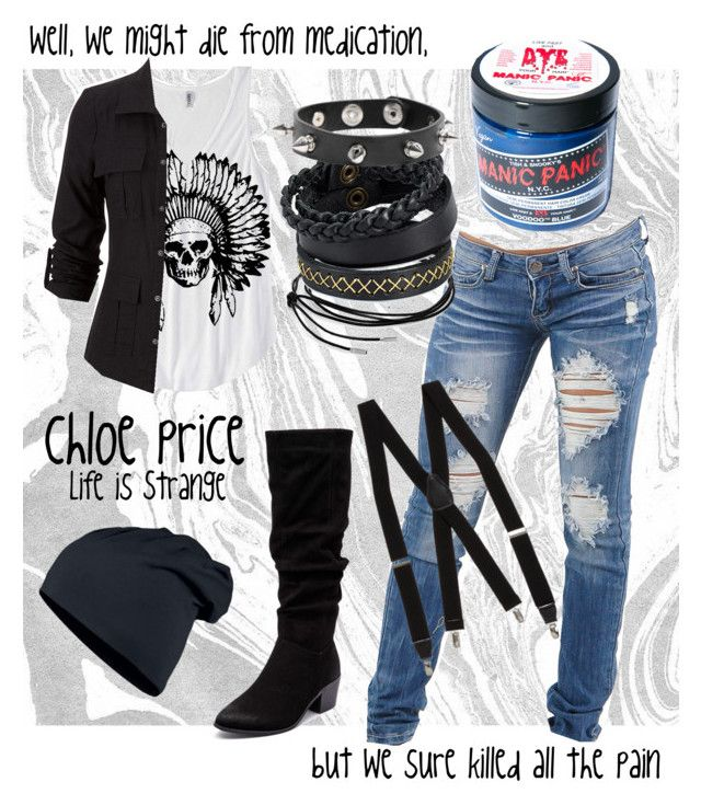 """""""Chloe Price    Life is Strange"""" by mixthatifyoucan on Polyvore"""