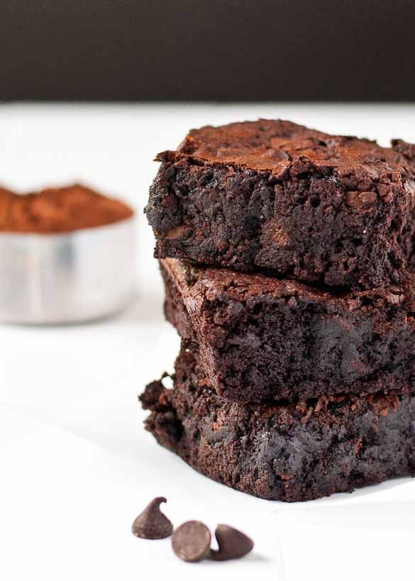 Ultimate Fudgy One-Pot Brownies. Whip up a batch in 15 minutes!