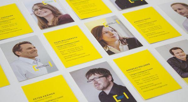 Corporate Design für Cologne Intelligence on Behance