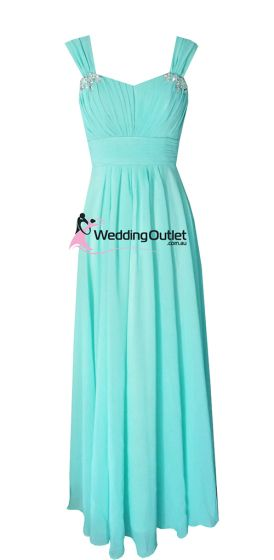 Aqua Bridesmaid Dresses Style #A1029 …