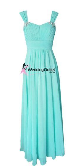 Aqua Bridesmaid Dresses Style #A1029