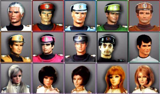 Captain Scarlet Spectrum Agents