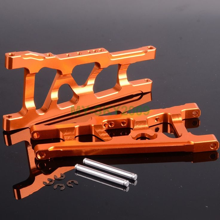 2pcs SLA007 Alloy Front / Rrar Lower Arm For 1/10 RC Car TRAXXAS SLASH 4X4 Racing