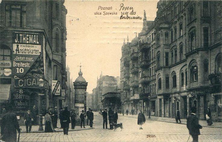 To jedna z naszych ulubionych fotek starego Poznania, Szewska z początku XX wieku!