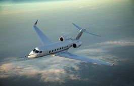 걸프 스트림 g650, 제트기, 비행기, 비즈니스 클래스, 높이, 비행기, 구름, 하늘, 토목, 항공 사진