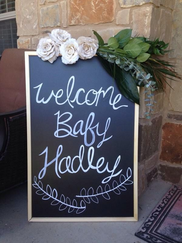 welcome signs for baby shower