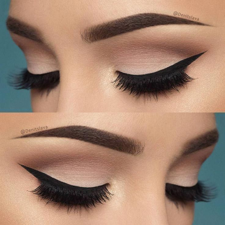 Soft Pink Eye Look With A Perfect Wing Makeupideasnatural Eye