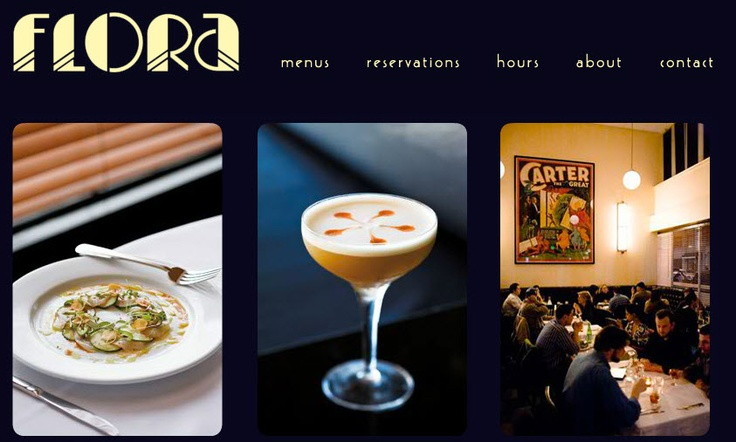 Flora in Oakland has been given to me as a must go restaurant. Can't wait to try it!  http://www.floraoakland.com/
