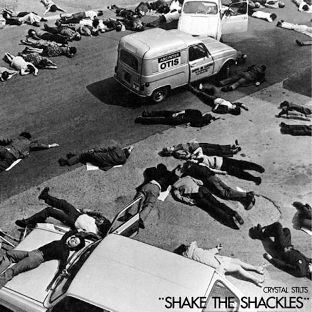 "Crystal Stilts' cover for ""Shake The Shackles"". I wonder how this picture came about.."
