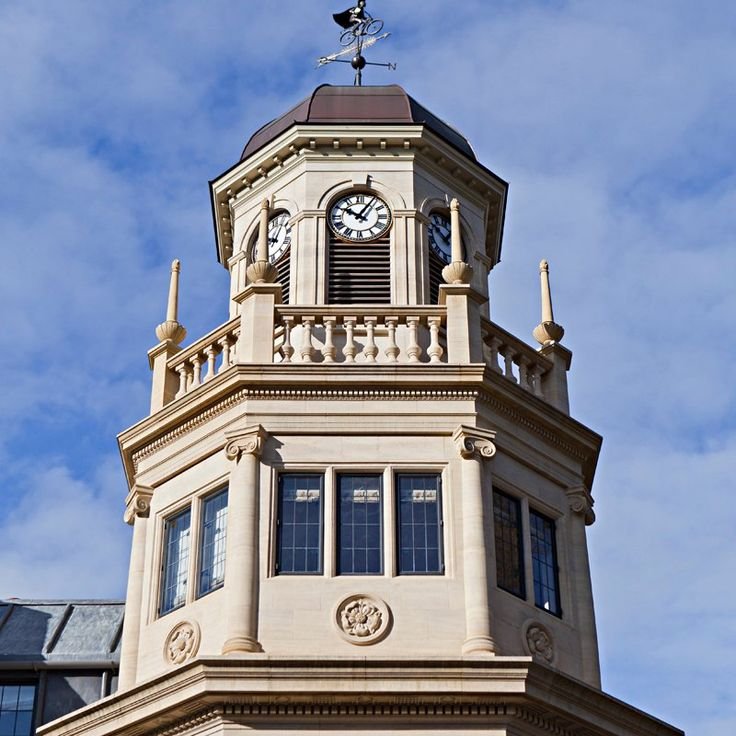 Siew-Sngiem Clock Tower  Harris Manchester College, University of Oxford 1 Mansfield Road Oxford, United Kingdom Built 2014  Architect: Yiangou Architects