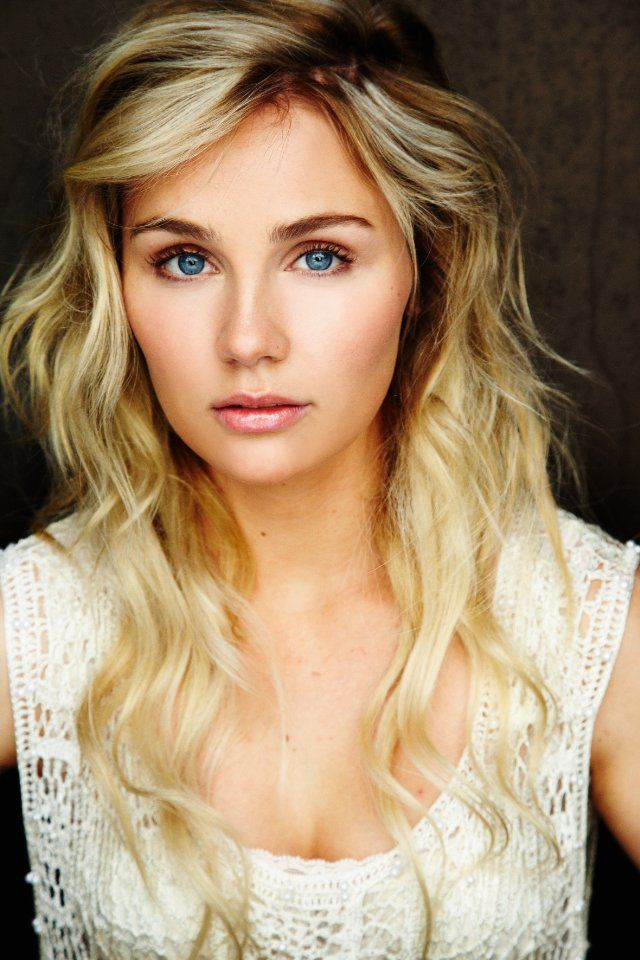 "Australian born Clare Bowen of tv series, Nashville. Plays the character Scarlett o'Connor. She is a talented Singer too! I just love her song ""If I Didn't Know Better"" with Sam Palladio."