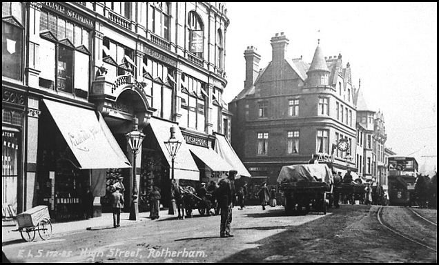 Old Rotherham High Street