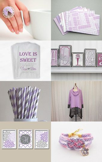 Sweet Lilac by Gabriela on Etsy--Pinned with TreasuryPin.com #etsy #handmade #lilac #cakering