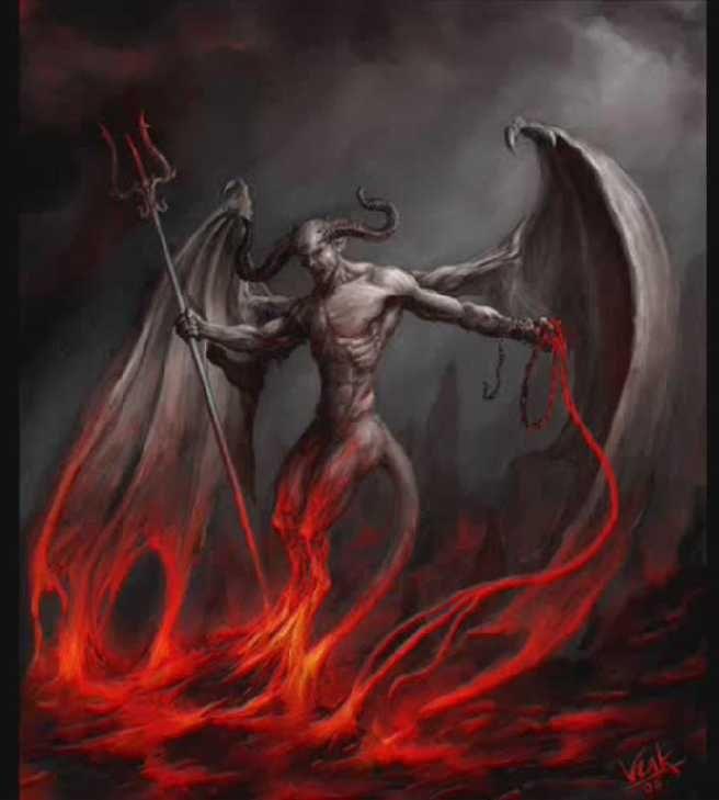 Image result for lucifer the fallen angel