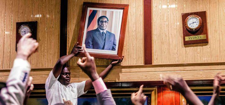 Robert Mugabe Angela Merkel Syria Your Wednesday Briefing