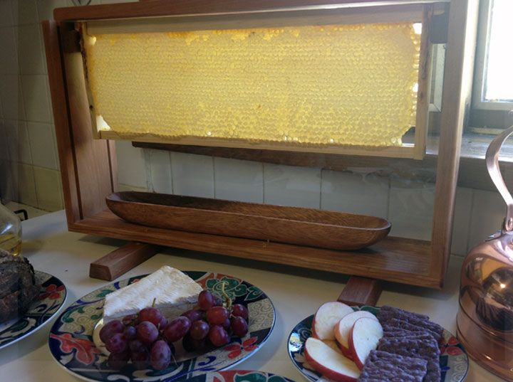 Honeycomb Buffet Display Frame Serving Tray Langstroth