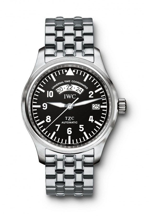 @iwcwatches Pilot's Watch UTC (1998) - in 1998, IWC introduced this watch (Ref. IW3251) as a useful tool for frequent travelers in an increasingly globalized world.  More @ http://www.watchtime.com/featured/time-flies-9-historic-iwc-pilots-watches/ #iwcwatches #watchtime #pilotswatch