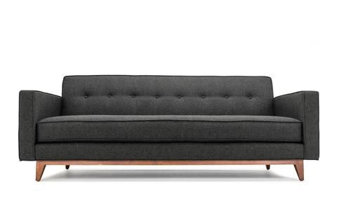Mansfield - Custom Affordable Mid Century Modern Sofa from Clad Home $1700 for sleeper