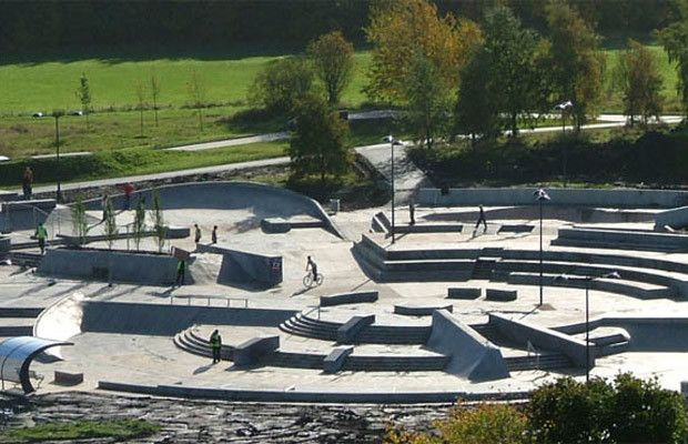 Stoke Plaza - The 25 Best Skateparks in the World | Complex