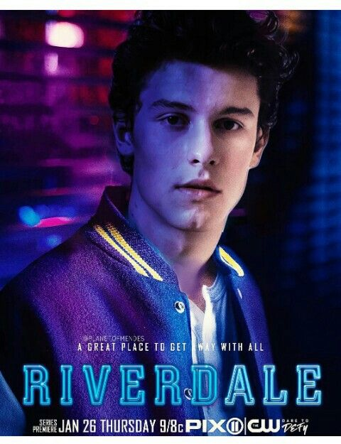 Oh my F***ing god if Shawn mendes was in Riverdale I would flip out so much!