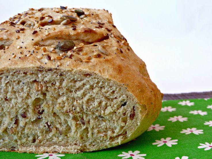 Una Fiera en mi cocina: Pan de cerveza con harina de espelta y granary (multicereales)