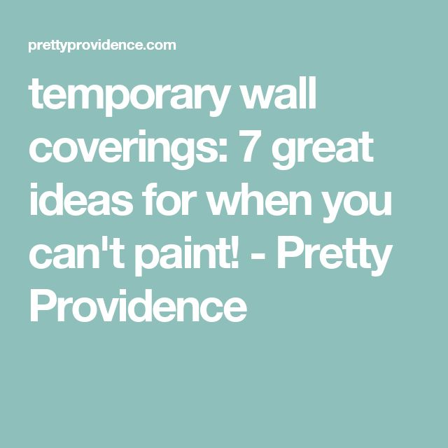 Best 25+ Temporary wall covering ideas on Pinterest ...