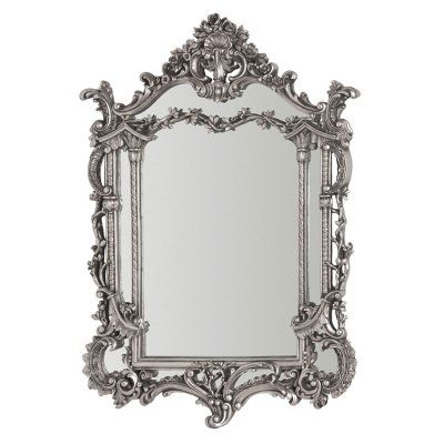 Antique style mirror with exquisite detailing