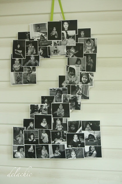 Cute picture idea for each birthday