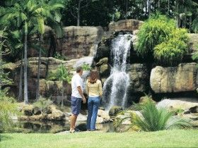 Kershaw Gardens represent a natural Australian bush environment, in contrast to the more formal style of traditional Botanic Gardens. These magnificent gardens stretch for one kilometre along the Bruce Highway and provide an attractive, peaceful setting within the heart of Rockhampton.