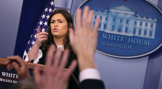 WATCH LIVE: White House Press Briefing At 2:30 PM ET