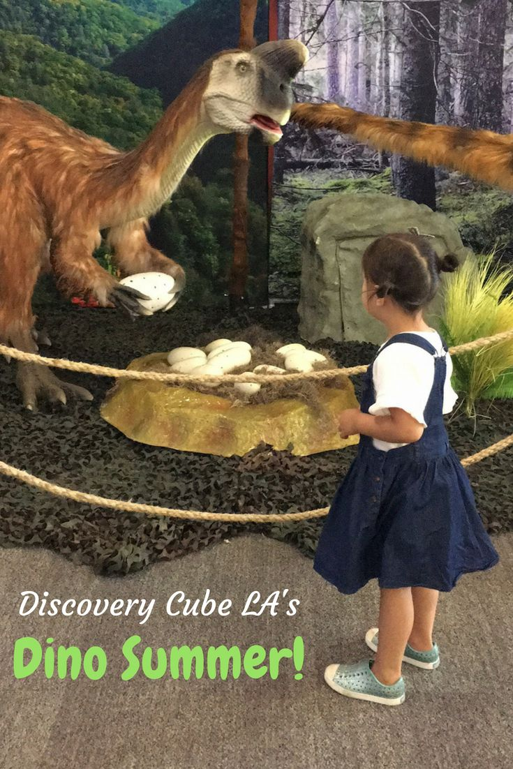 Dino Summer At Discovery Cube La Oc Summer Prehistoric Creatures Discovery