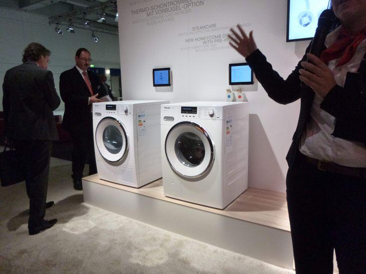 #Miele W1 washing machine #TwinDos #QuickPowerWash