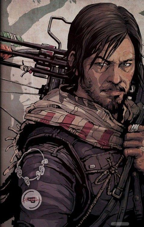 Daryl Dixon - The Walking Dead                                                                                                                                                                                 Mais