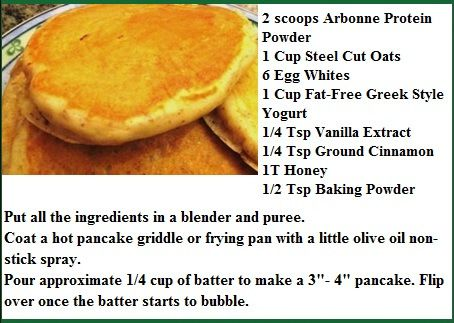 Arbonne Healthy Pancakes  Who doesn't want to get tons of protein from pancakes?! Such a good excuse for those pancake lovers out there!  Contact me for a sample of protein powder to make these delicious treats! Bboyko18@hotmail.ca or check out the website brookeboyko.arbonne.com