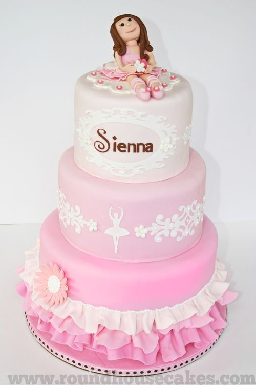 I like the design on the sides of the cake.
