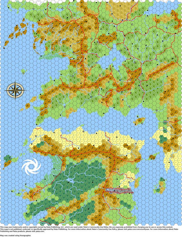Hex Ox's Hex Maps