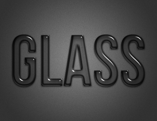 Glassy text style : A nice glassy text style, applicable to a variety of objects. Play with the emboss depth to get a variety of effects. Font used: Bebas Neue. Font not included.